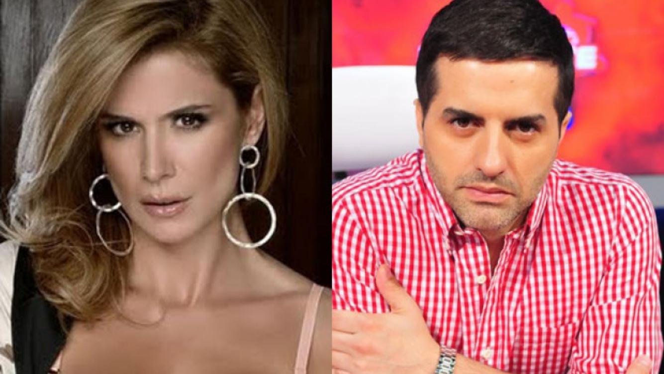Flavia Palmiero y Angel de Brito, enfrentados en Twitter (Foto: Web).