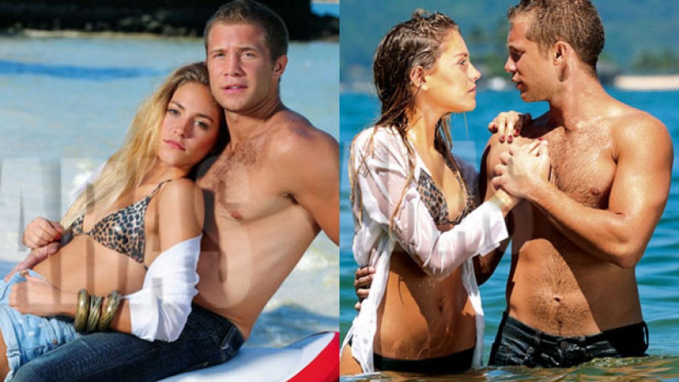 Rochi y Nico, puro mimo y seducción en la isla de Caras (Fotos: Revista Caras).