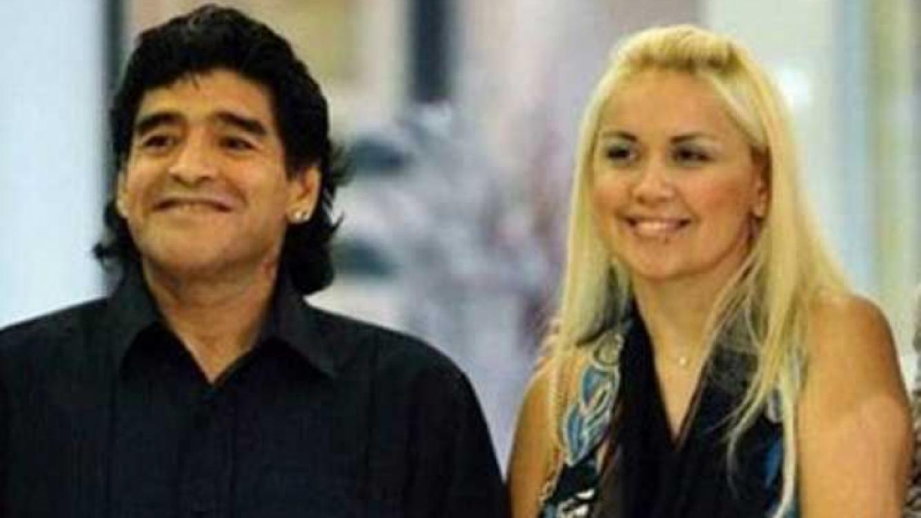 Diego Maradona y Verónica Ojeda, embarazados. (Foto: Web)