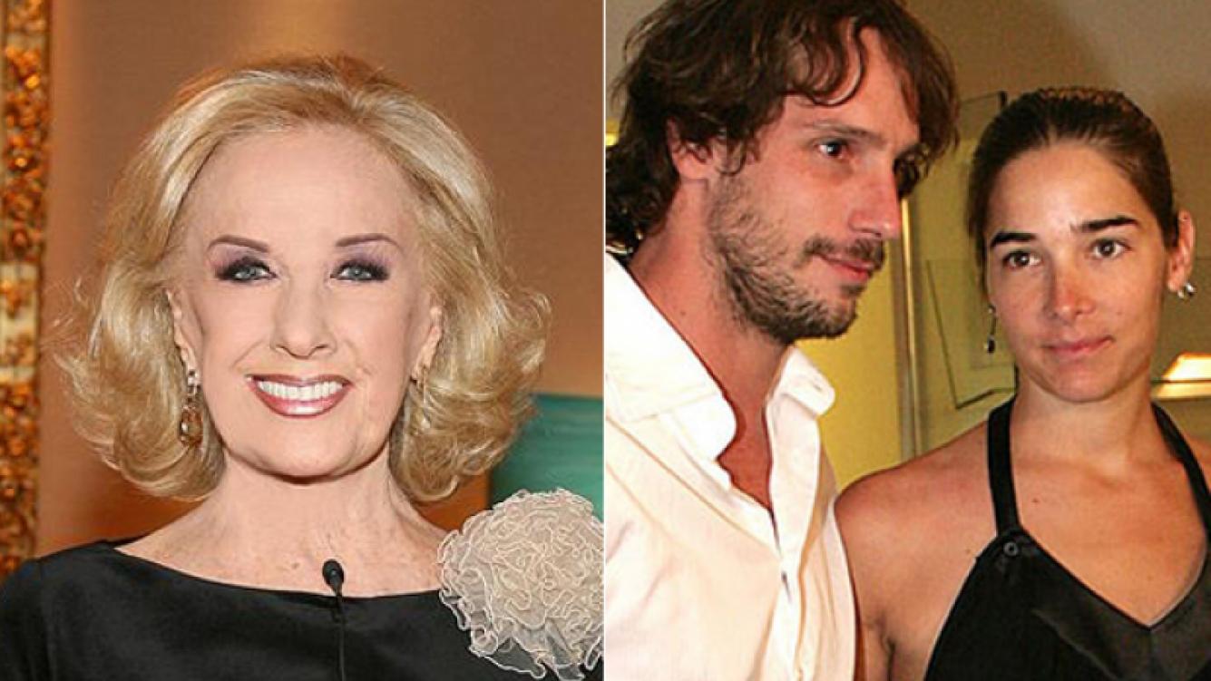 Mirtha Legrand negó los rumores de crisis entre su nieta y Gonzalo Valenzuela. (Foto: Web)