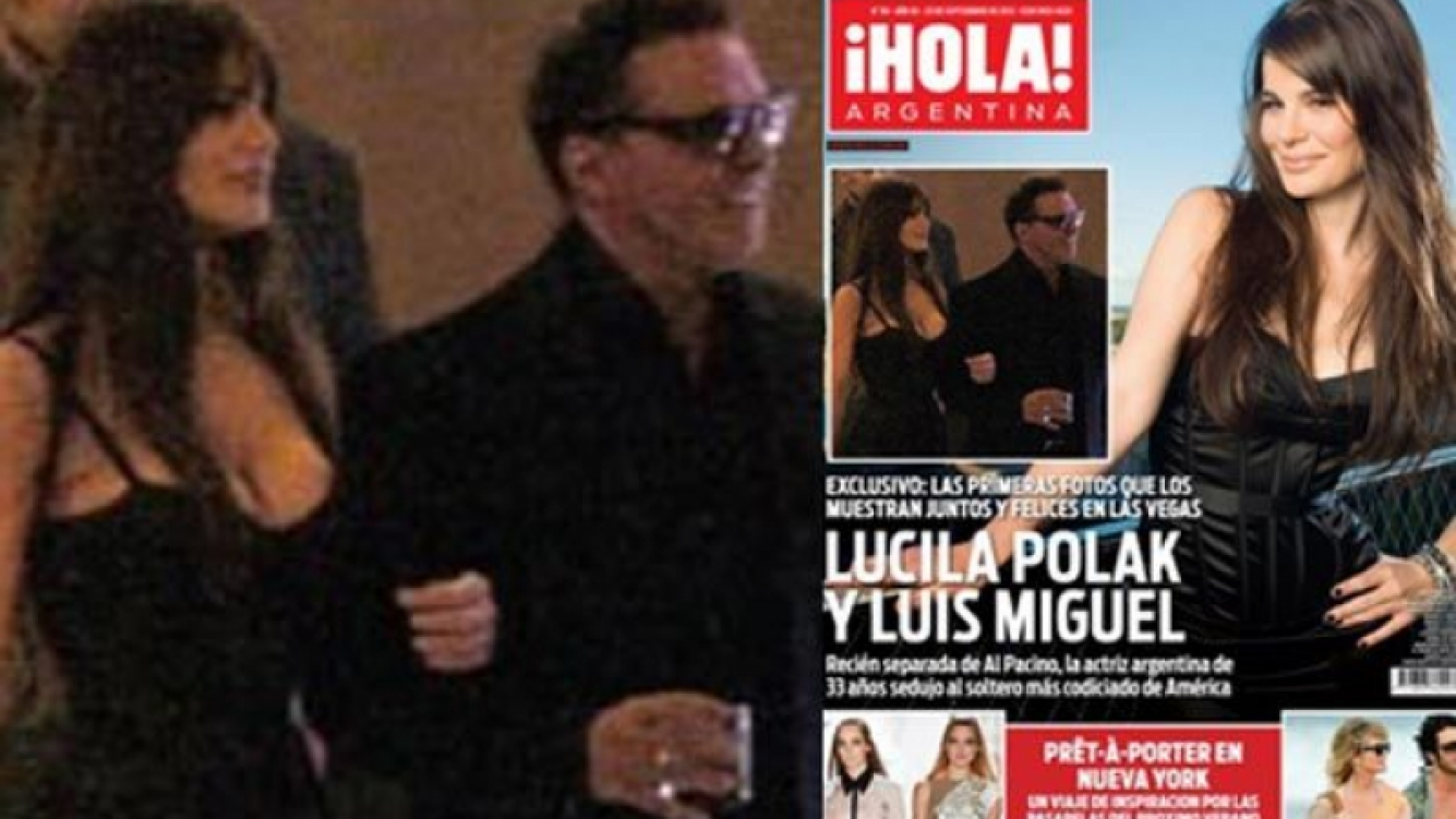 La ex de Al Pacino, ahora sale con Luis Miguel. (Foto: ¡Hola!)