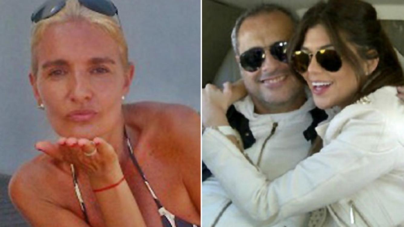 """Silvia D Auro y sus tweets """"amenazantes"""" mientras Jorge Rial está con la Niña Loly en Nueva York. (Fotos: Web)"""
