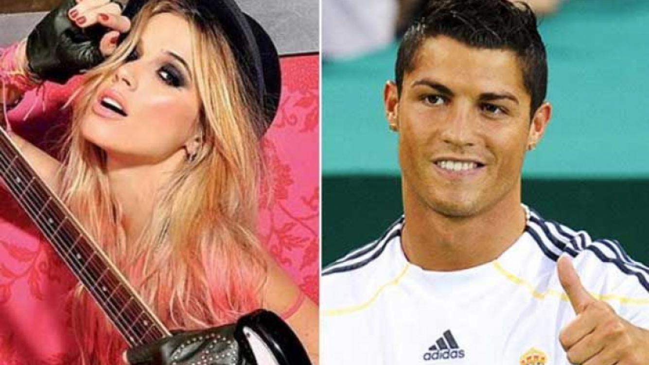 El bizarro sueño de Chechu Bonelli con Cristiano Ronaldo. (Foto: Web)