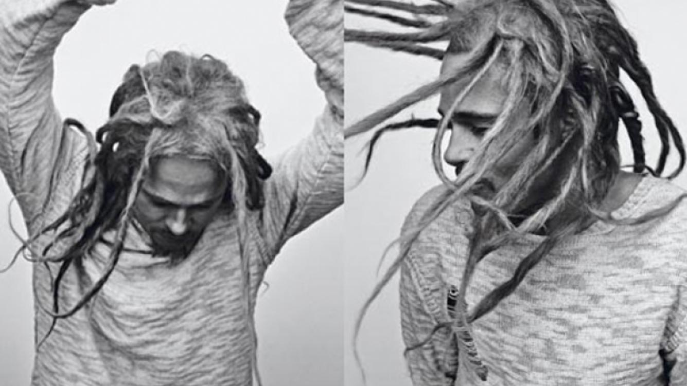 Brad Pitt hizo de Bob Marley en una producción de fotos. (Foto: Interview)