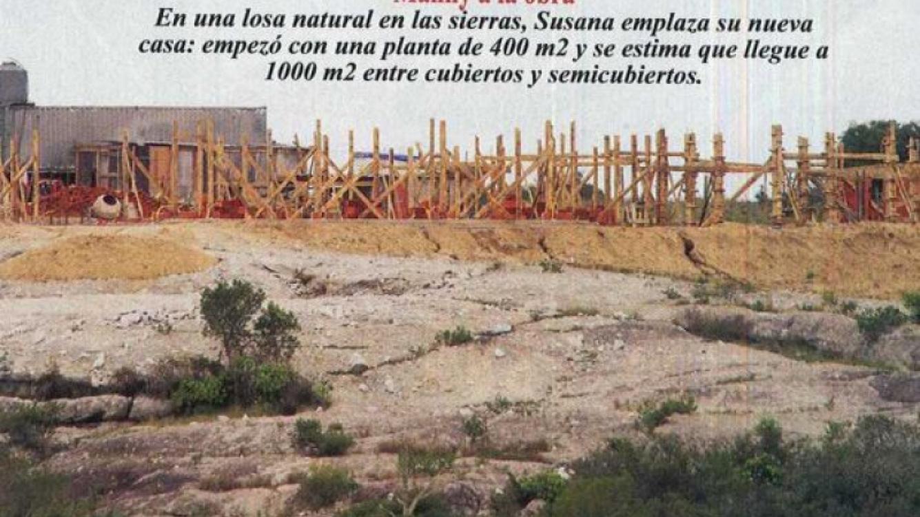 Susana Giménez está construyendo otra casa en Uruguay. (Foto: Revista Pronto)