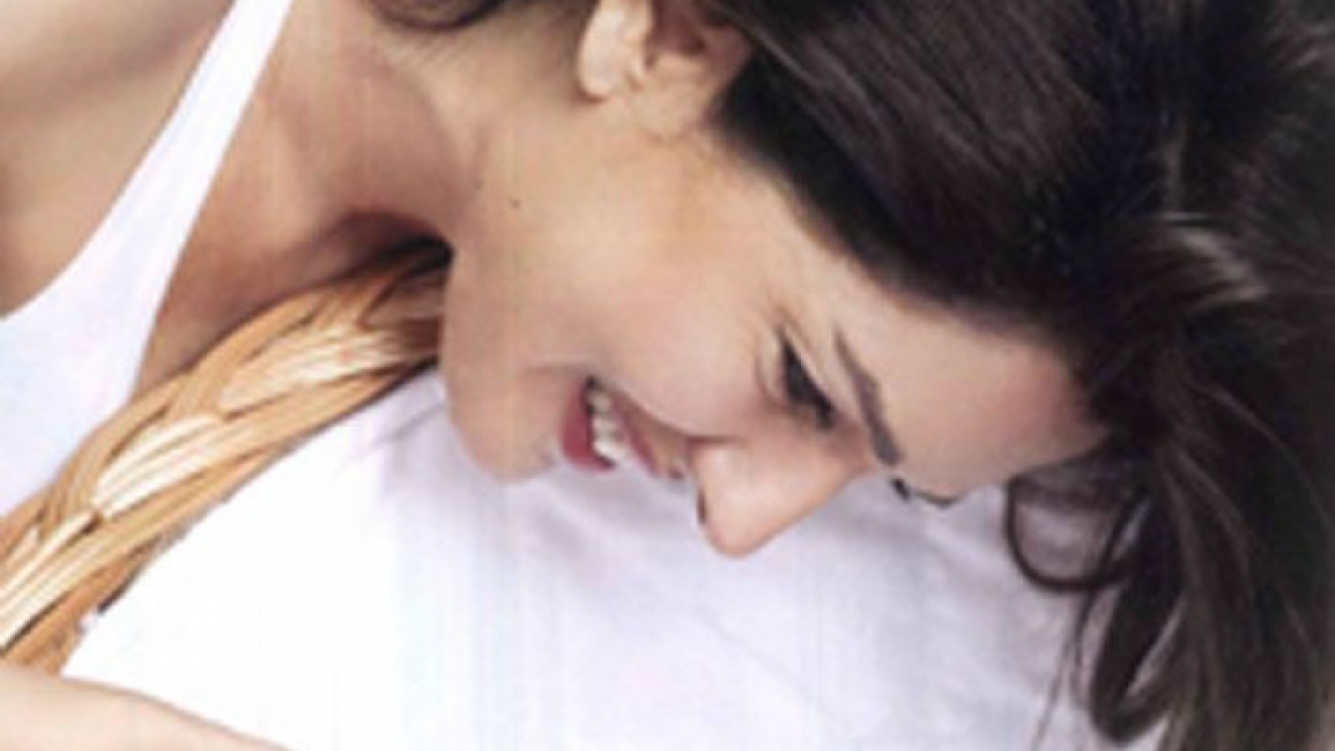 Andrea Frigerio junto a su nieta Olivia. (Foto: Revista ¡Hola! Argentina)
