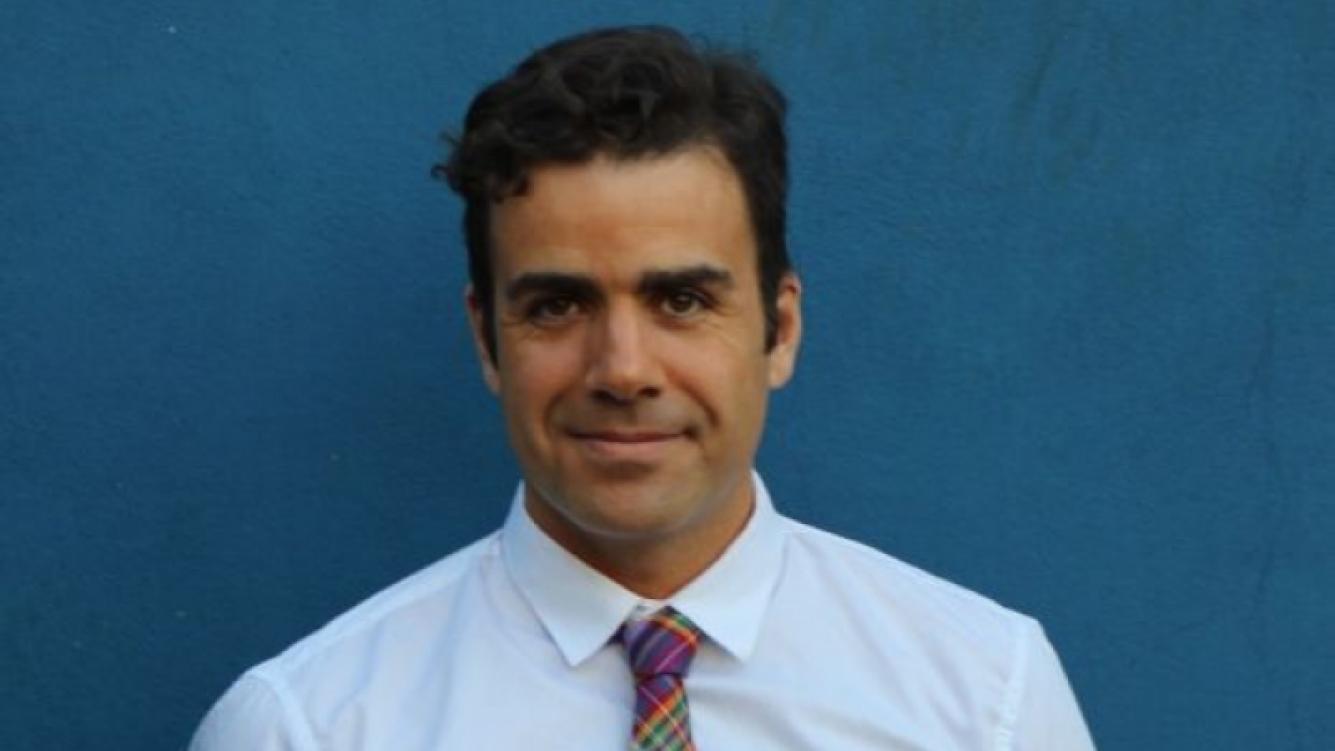Patricio, en una charla imperdible con Ciudad. com (Foto: Gentileza Patricio Gómez Di Leva).