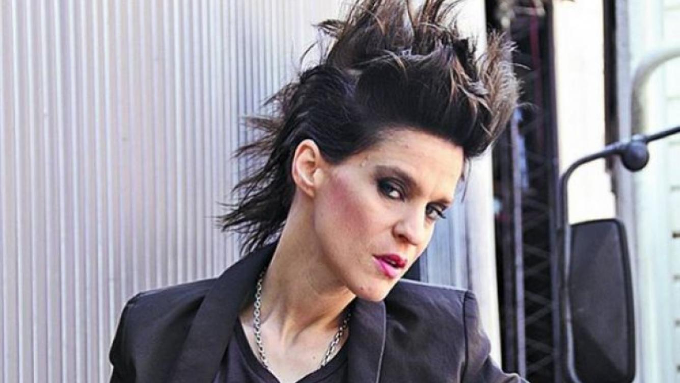 Leticia Brédice, la muchacha punk de Graduados. (Foto: Clarín)