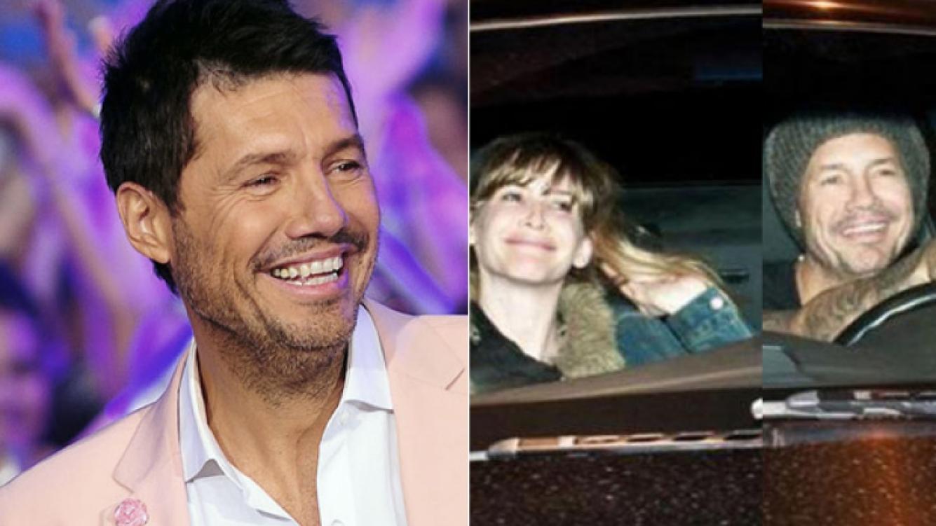 Tinelli y Guillermina siguen juntos, a contramano de los rumores de separación. (Fotos: Ideas del Sur y archivo Web)