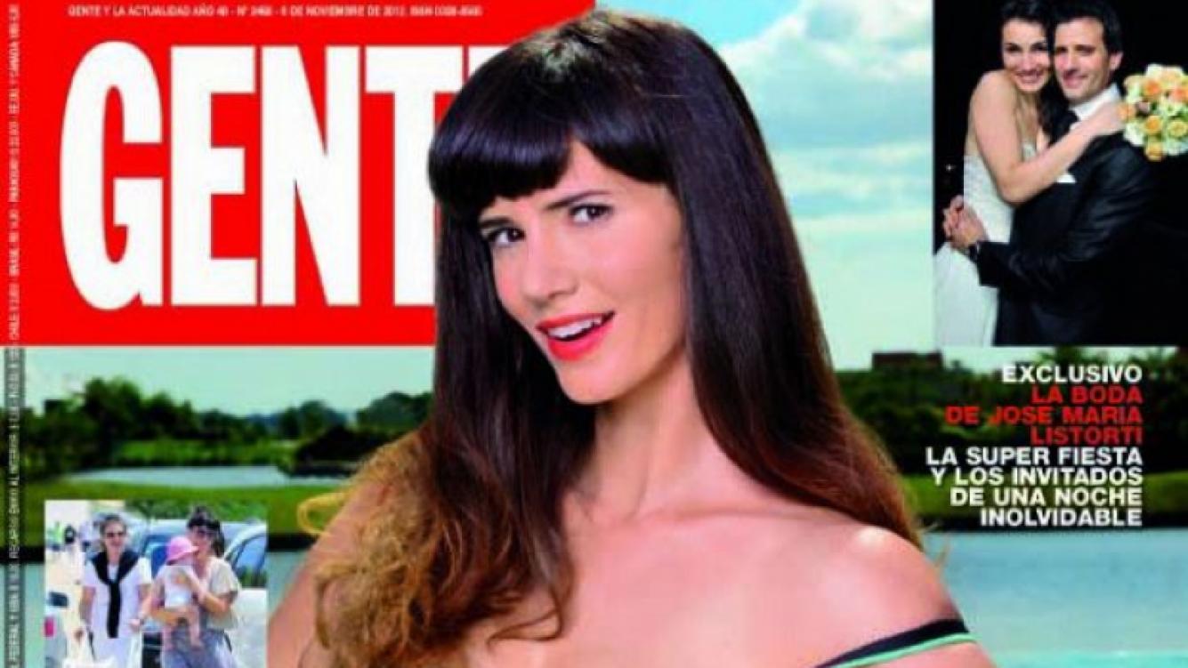 Griselda Siciliani, en la tapa de revista Gente.