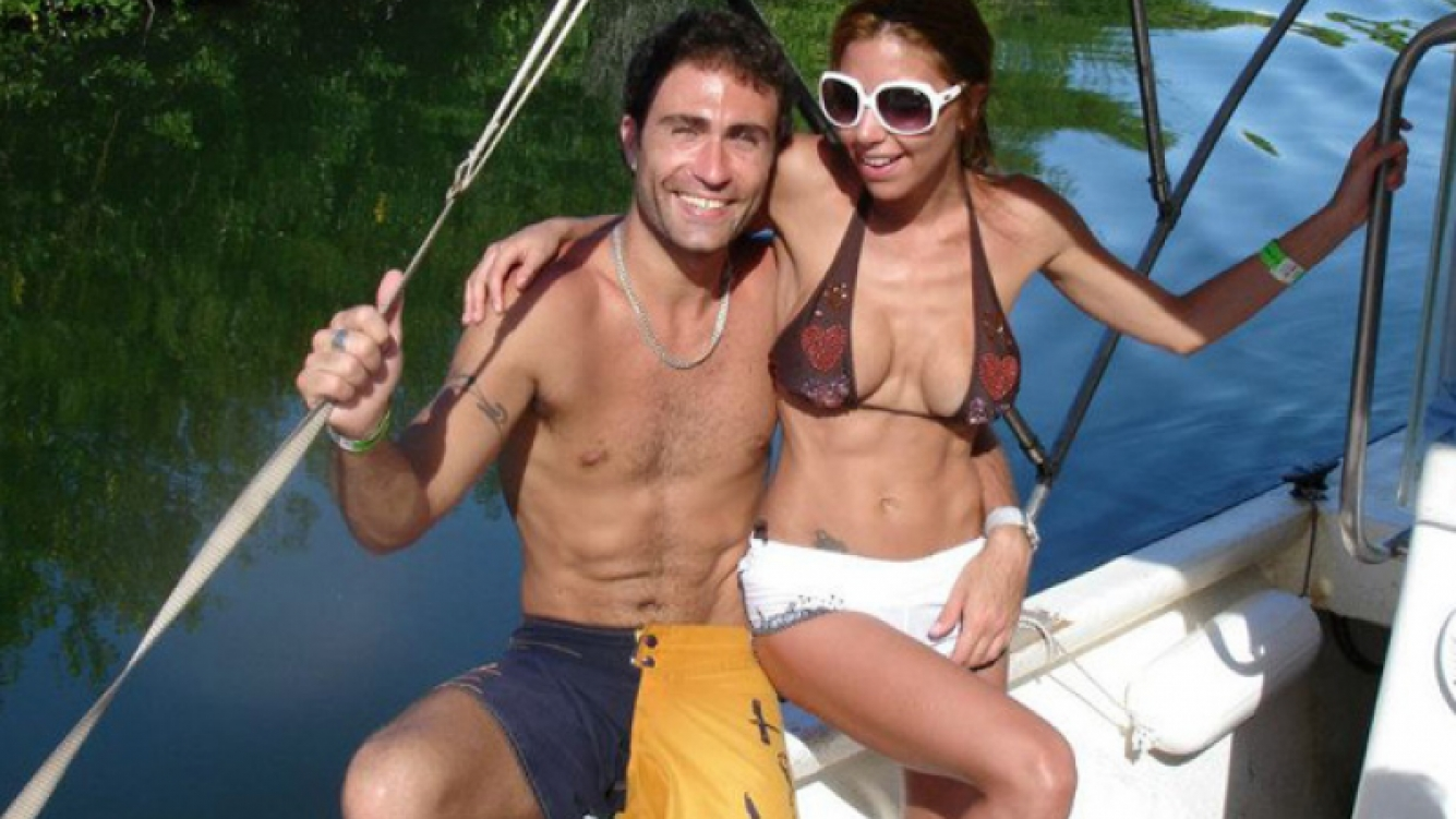 Rodrigo Santos y Julieta Gómez. (Foto: Facebook de Rodrigo Santos)