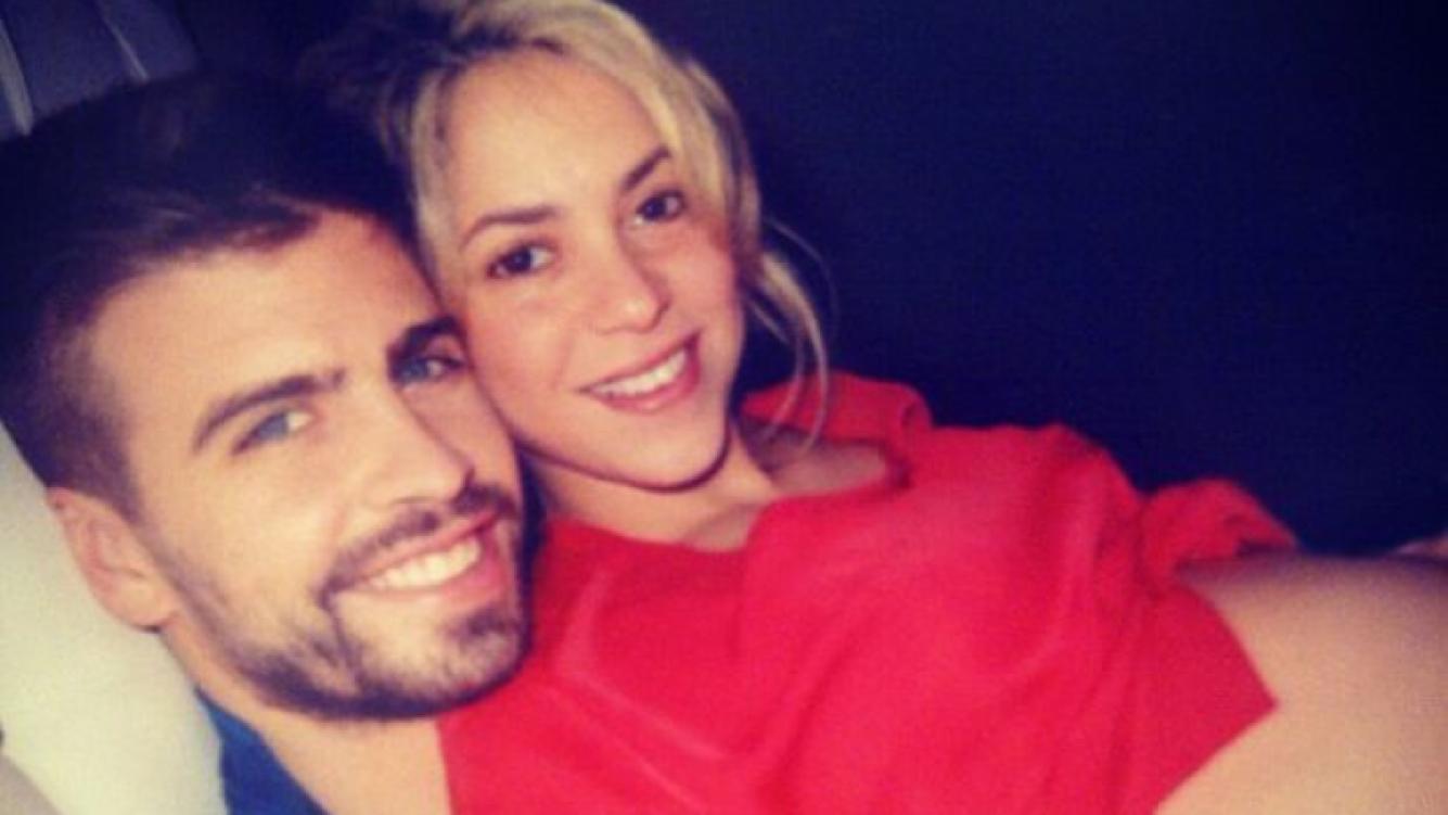 Shakira y Piqué, juntos, disfrutando del embarazo. (Foto: Twitter)