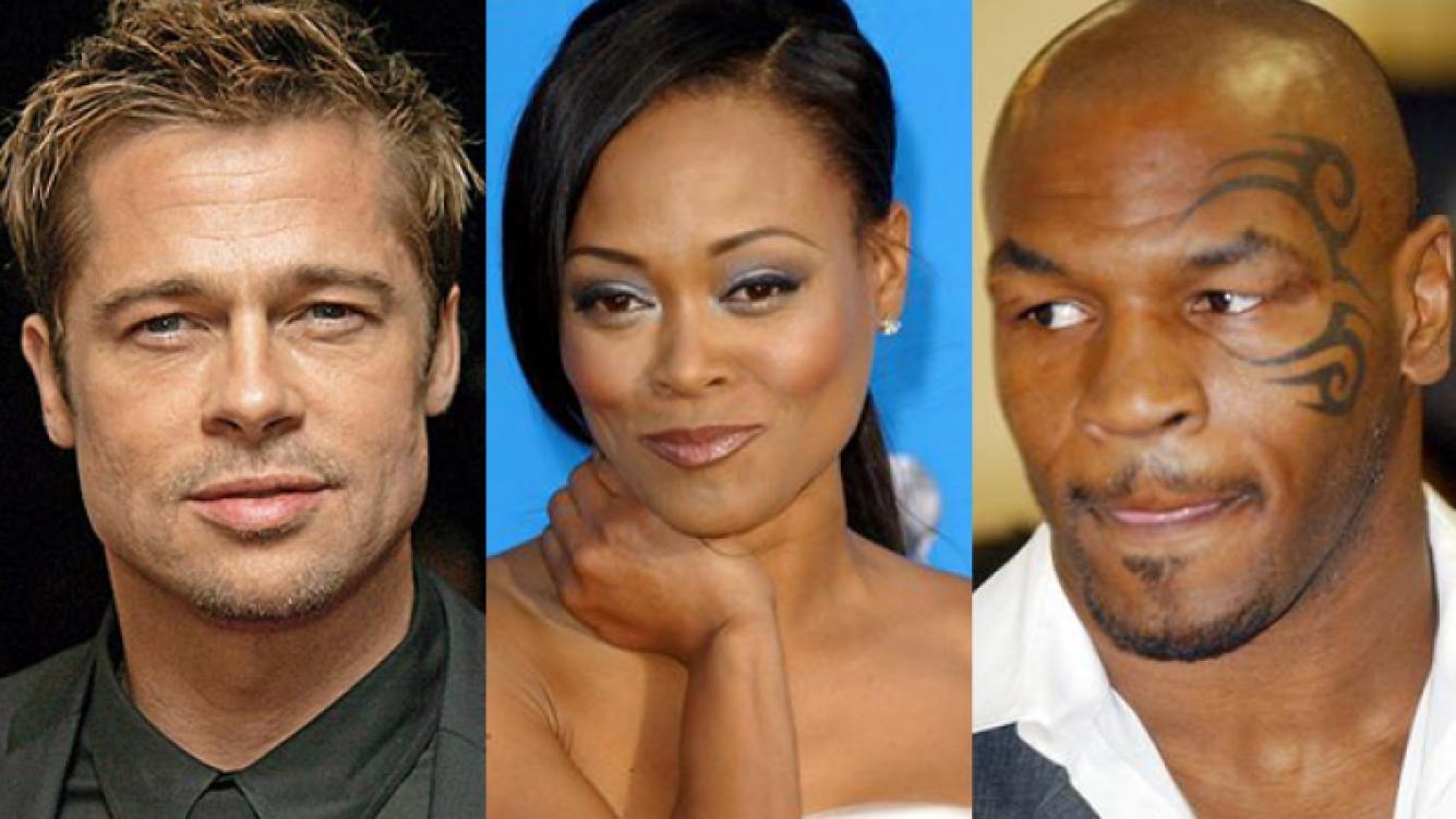 Mike Tyson confesó que encontró a su ex mujer teniendo sexo con Brad Pitt. (Foto: Web)
