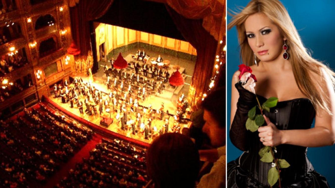 Karina, La Princesita, llevará la cumbia al Teatro Colón. Será el 27 de mayo de 2013. (Fotos: archivo Web)