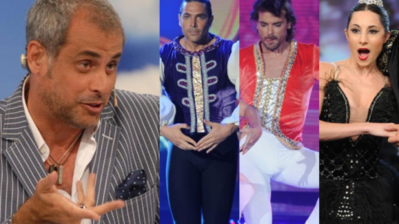 Jorge Rial no perdonó a ningún participante de Bailando 2012 (Fotos: Web e Ideas del Sur).