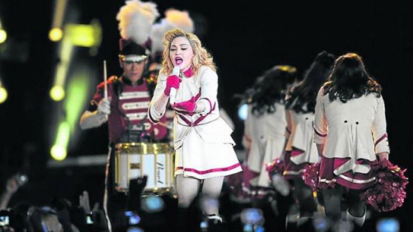 Madonna se despidió de Buenos Aires hasta nuevo aviso (Foto: Clarin.com).