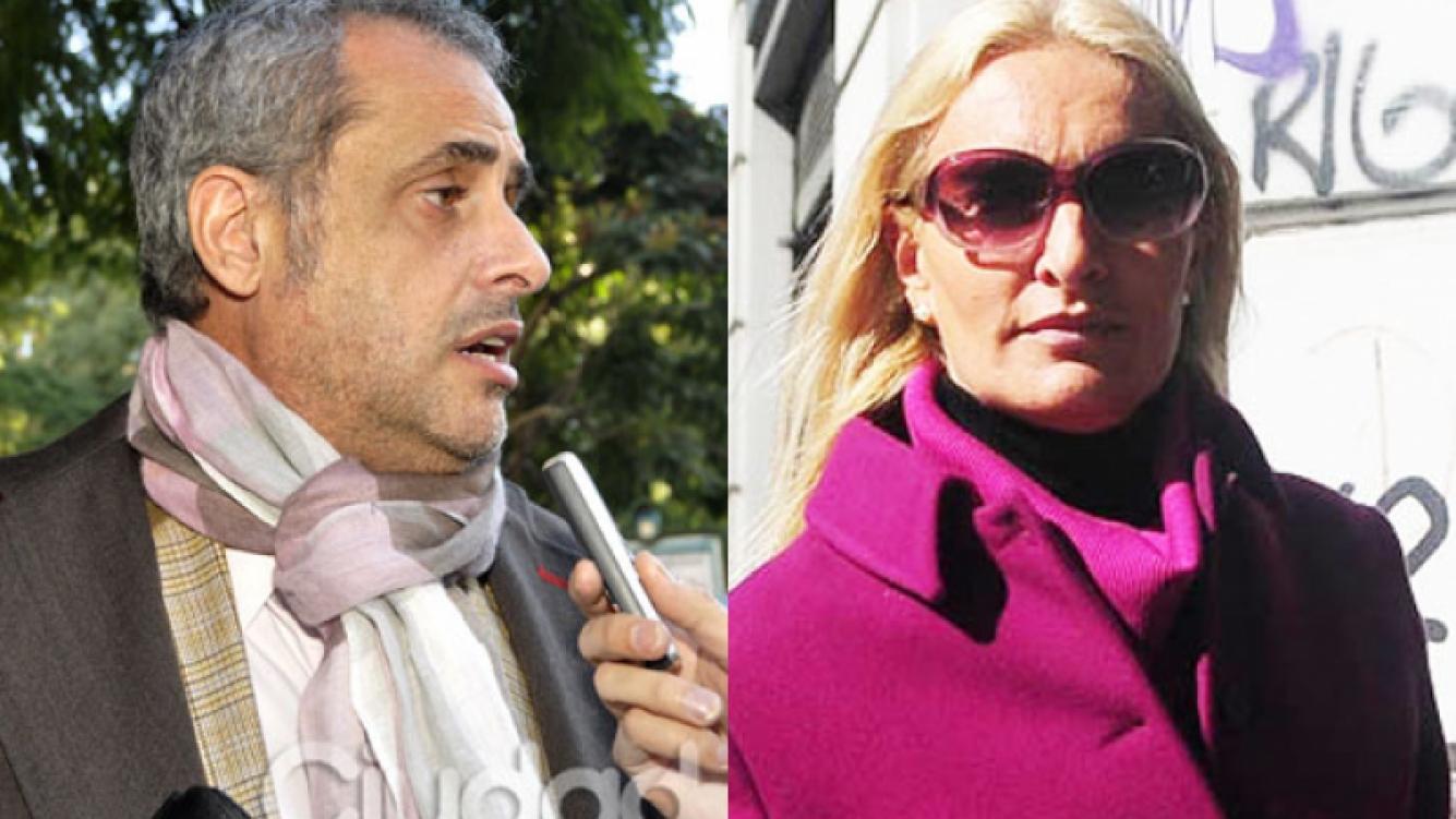 Rial y D´Auro, protagonistas de un polémico divorcio (Foto: Archivo Ciudad.com y Web).
