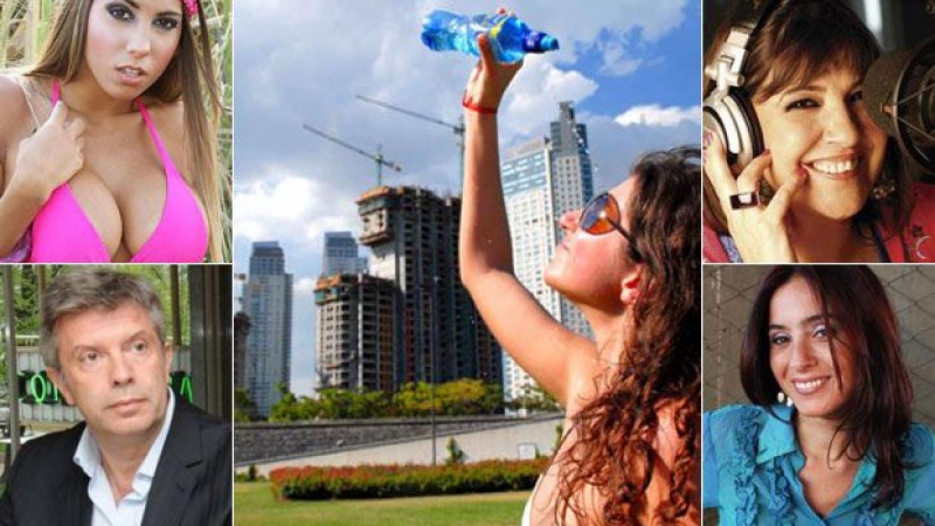 Cinthia Fernández, Mauricio D Alessandro, La Negra Vernaci, Florencia Etcheves y más, tuitearon sobre el calor en Baires.