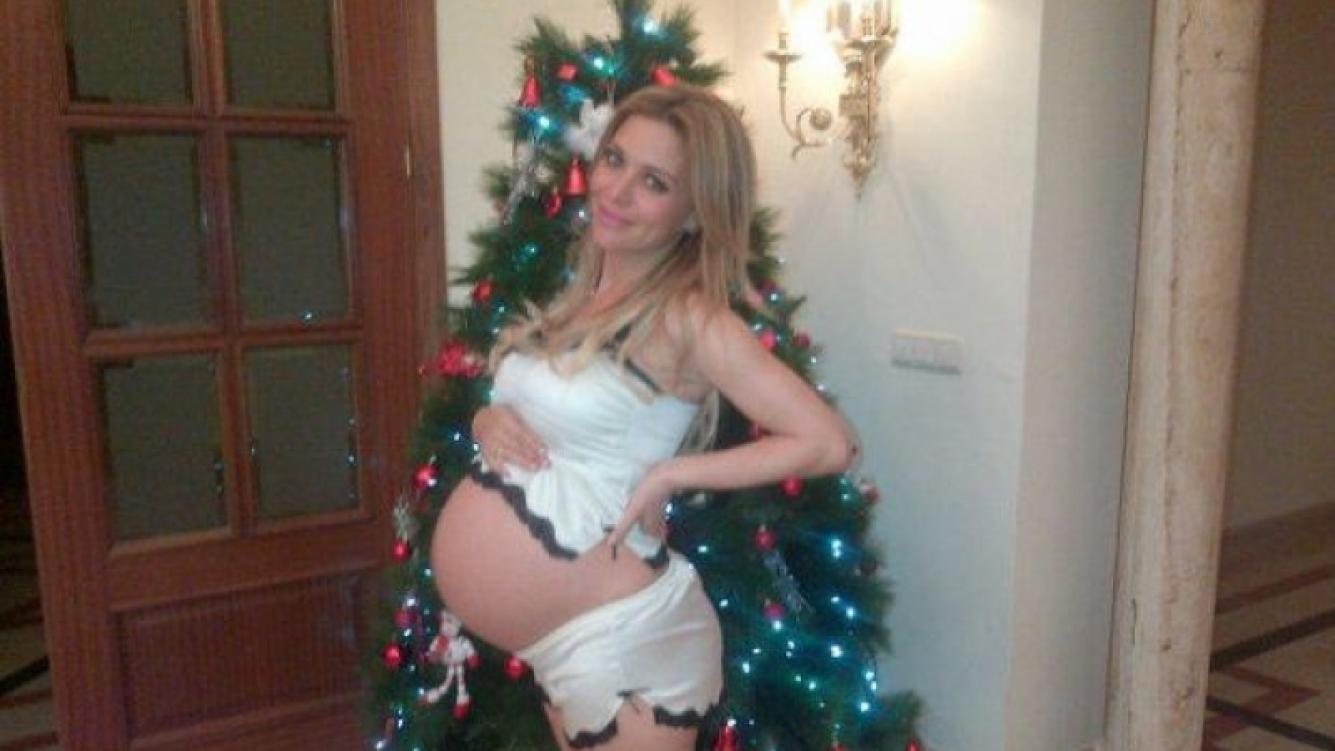 Evangelina Anderson, de 36 semanas. (Foto: Twitter @evange_anderson)