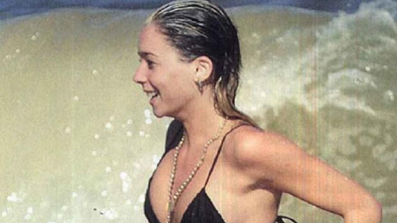 Lucía Celasco en las playas de Punta del Este. (Foto: revista Gente)