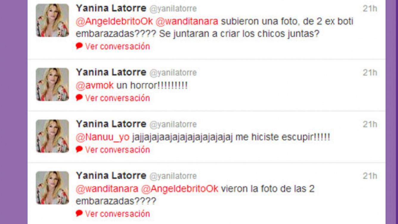 Yanina Latorre, sin filtro contra Ojeda y Anderson (Foto: Twitter).