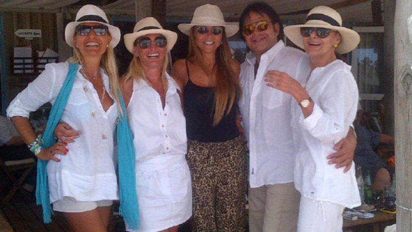 Silvia D´Auro, relajada y de vacaciones en Punta del Este (Foto: Twitter).