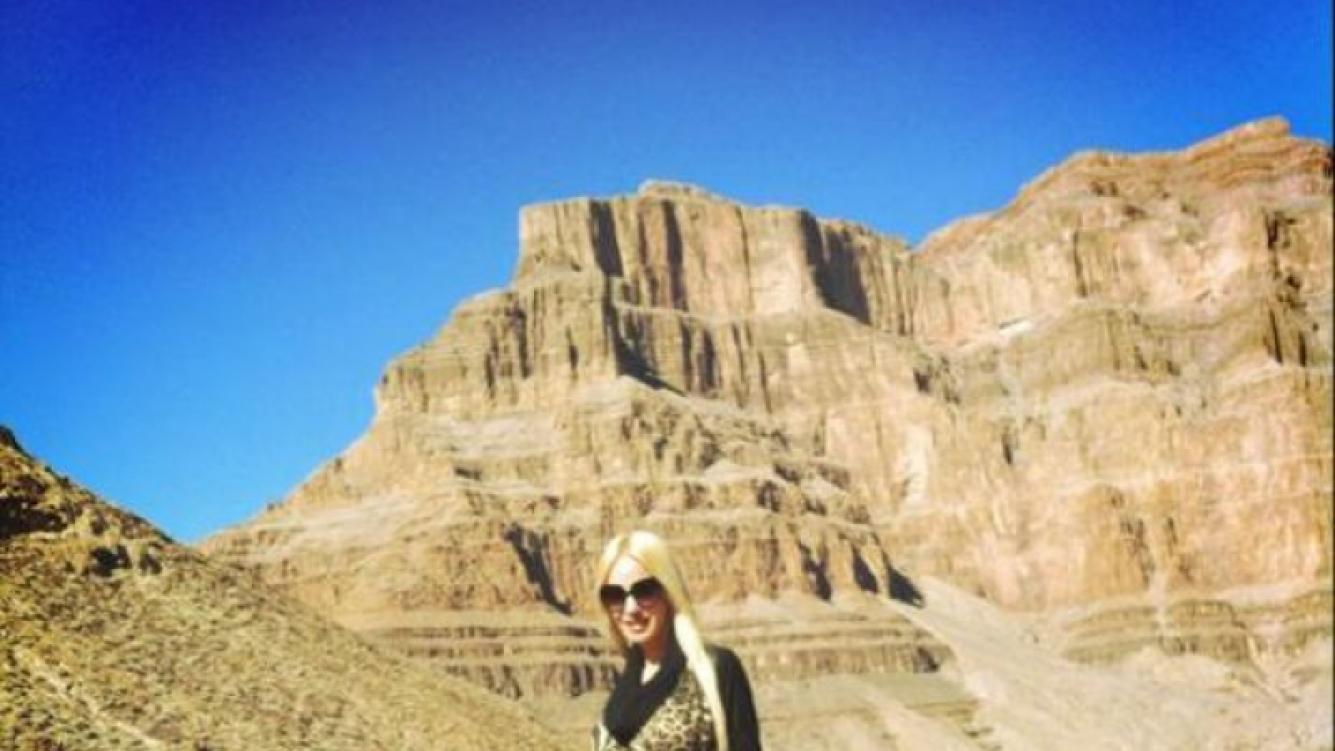 Luciana Salazar disfruta de un viaje de placer en Las Vegas junto a Redrado (Foto. Twitter).