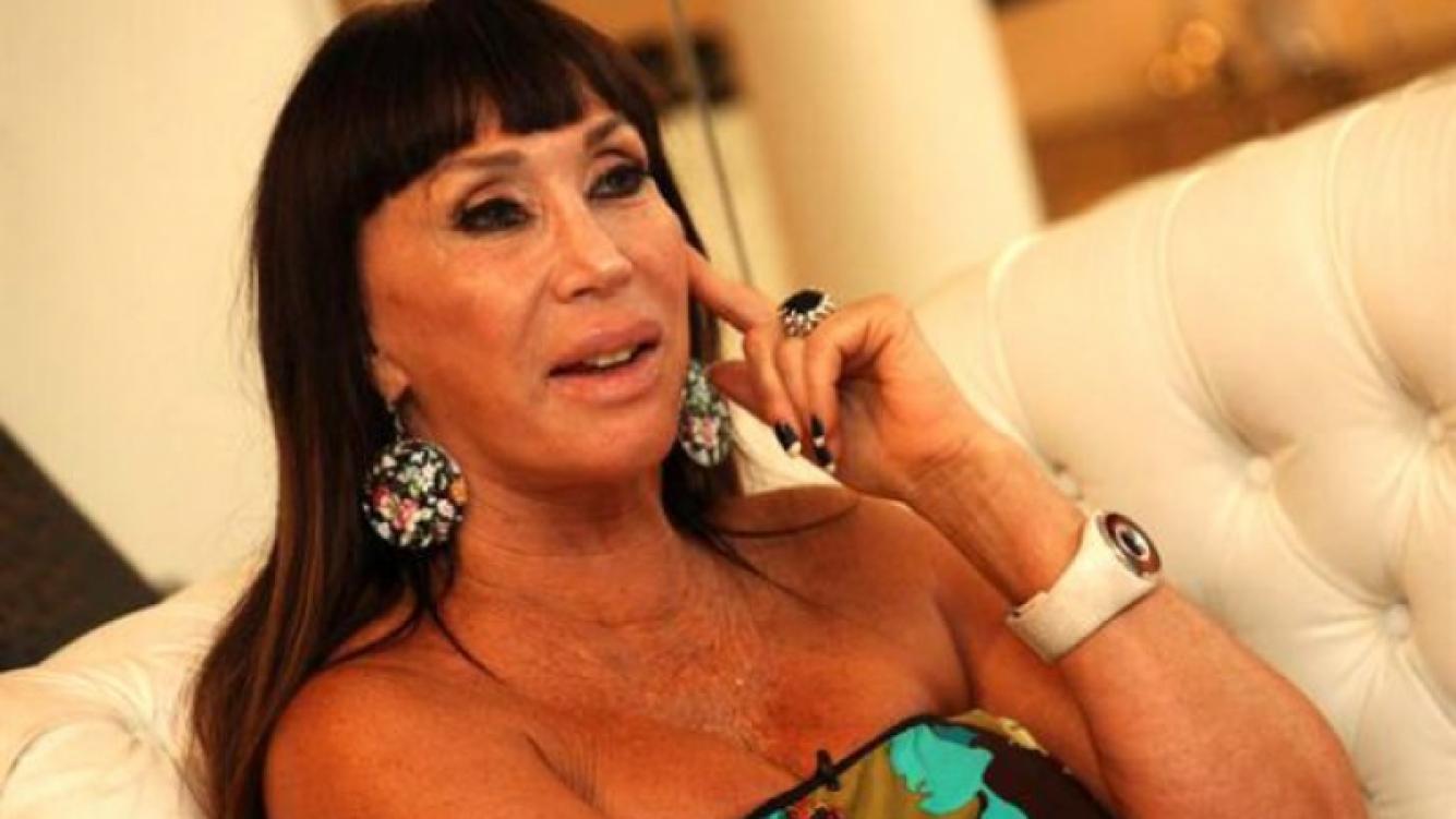 Moria Casán, mano a mano con Angel de Brito. (Foto: archivo Web)
