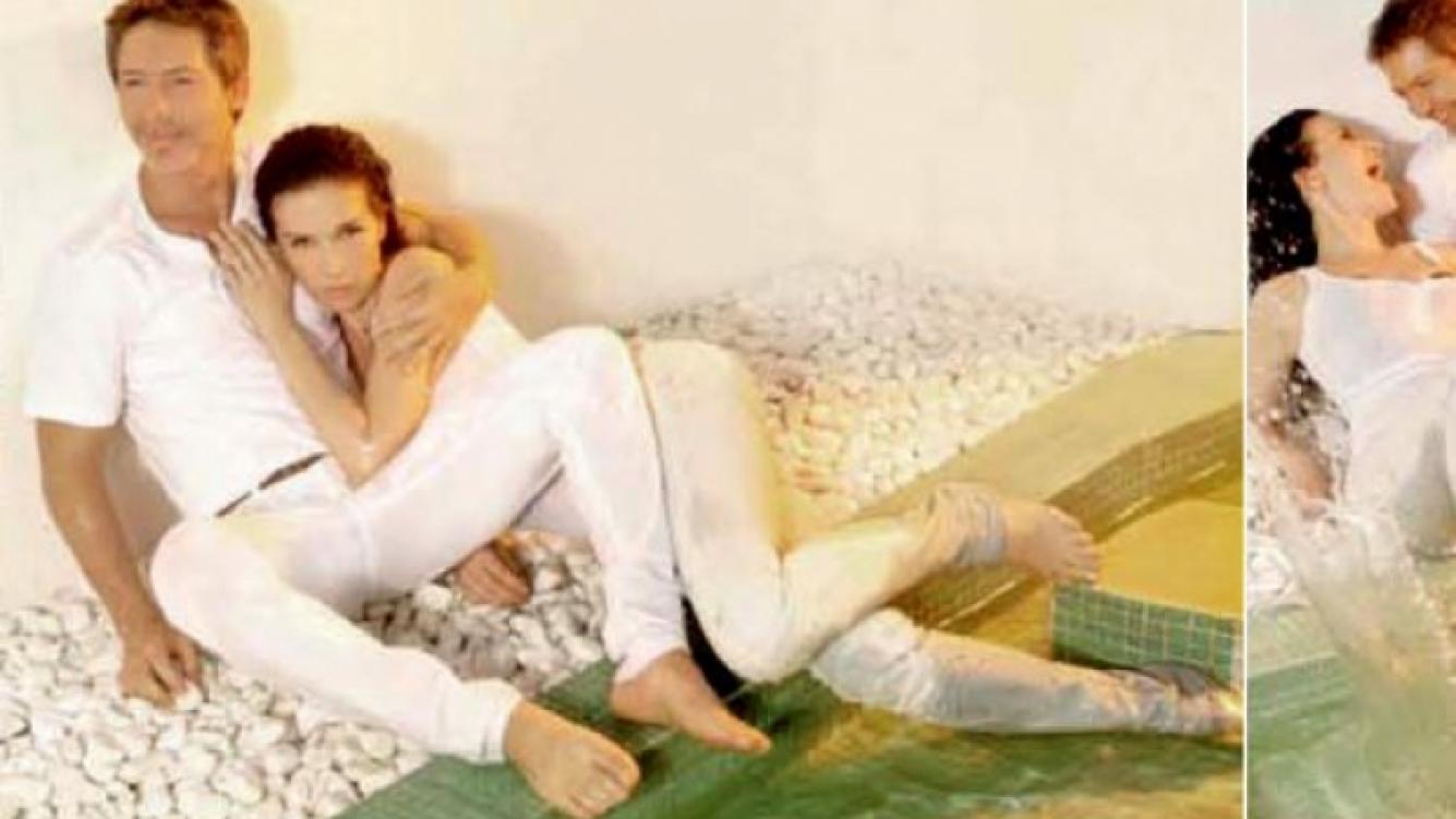 Natalia Oreiro y Adrián Suar, la dupla explosiva de Solamente vos. (Foto: revista Gente)