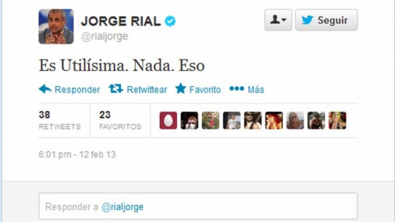 El sugestivo tweet de Jorge Rial a ¿Viviana Canosa?