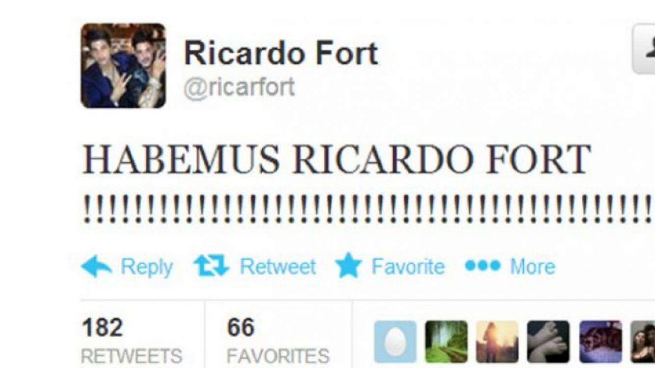 El enérgico tweet de Fort, desde la terapia intensiva: