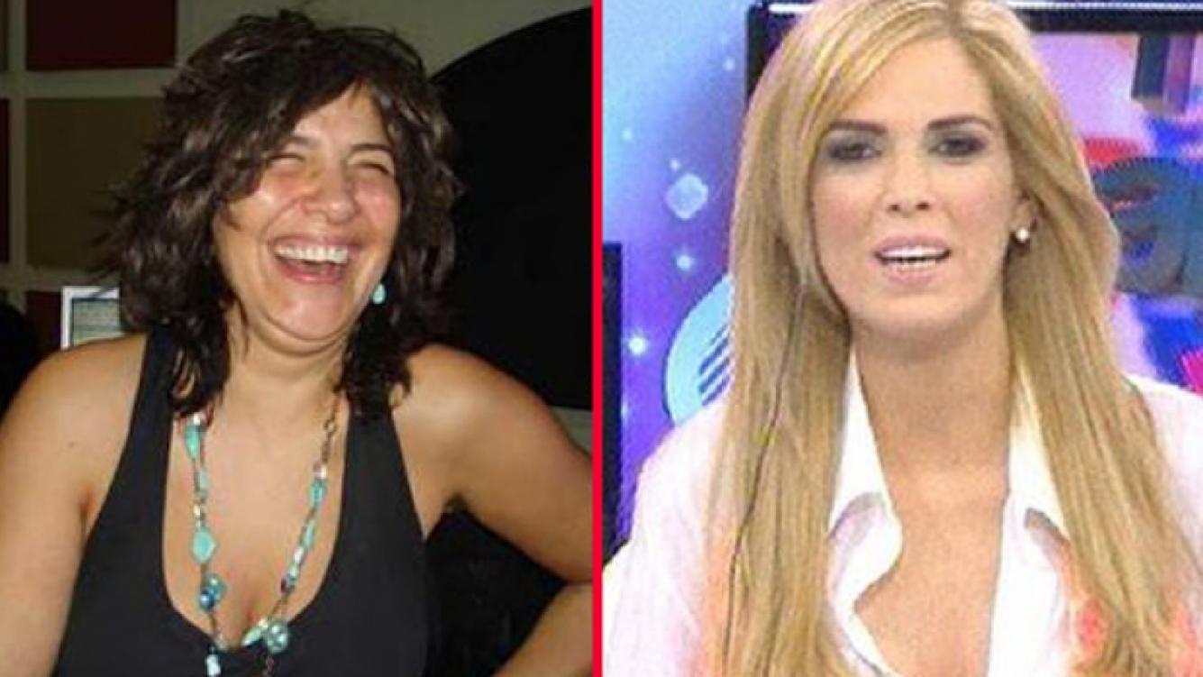 Elizabeth Vernaci se burló de Viviana Canosa (Fotos: Web).