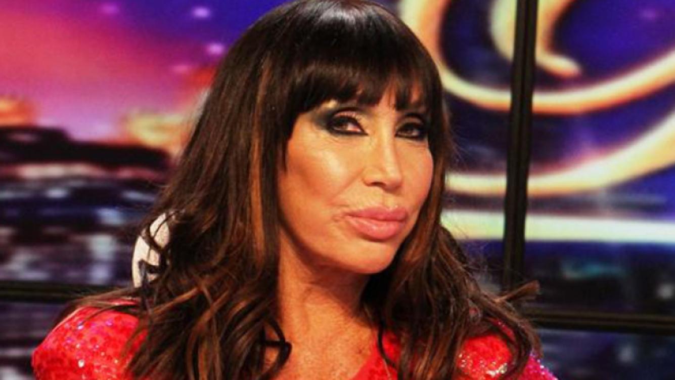 Moria Casán (Foto: Web).