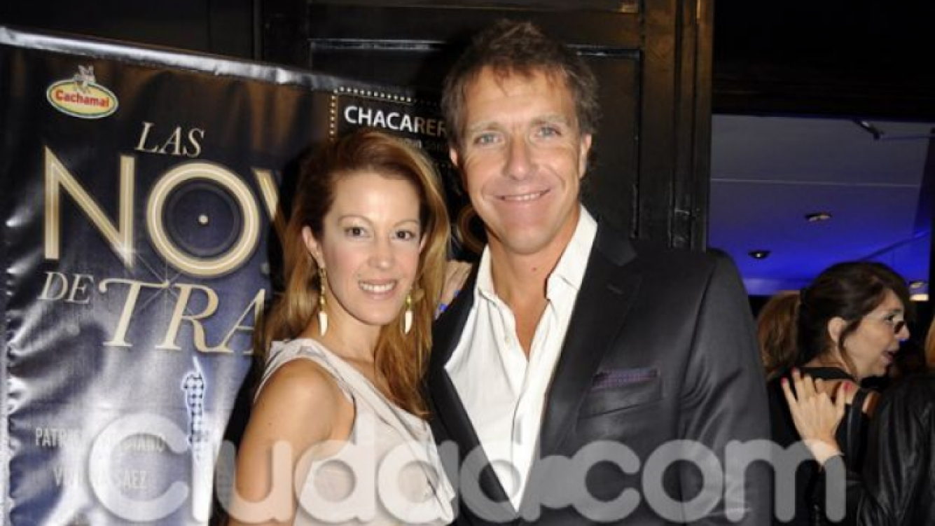 Alejandro Fantino y Miriam Lanzoni. (Foto: Ciudad.com-Jennifer Rubio)