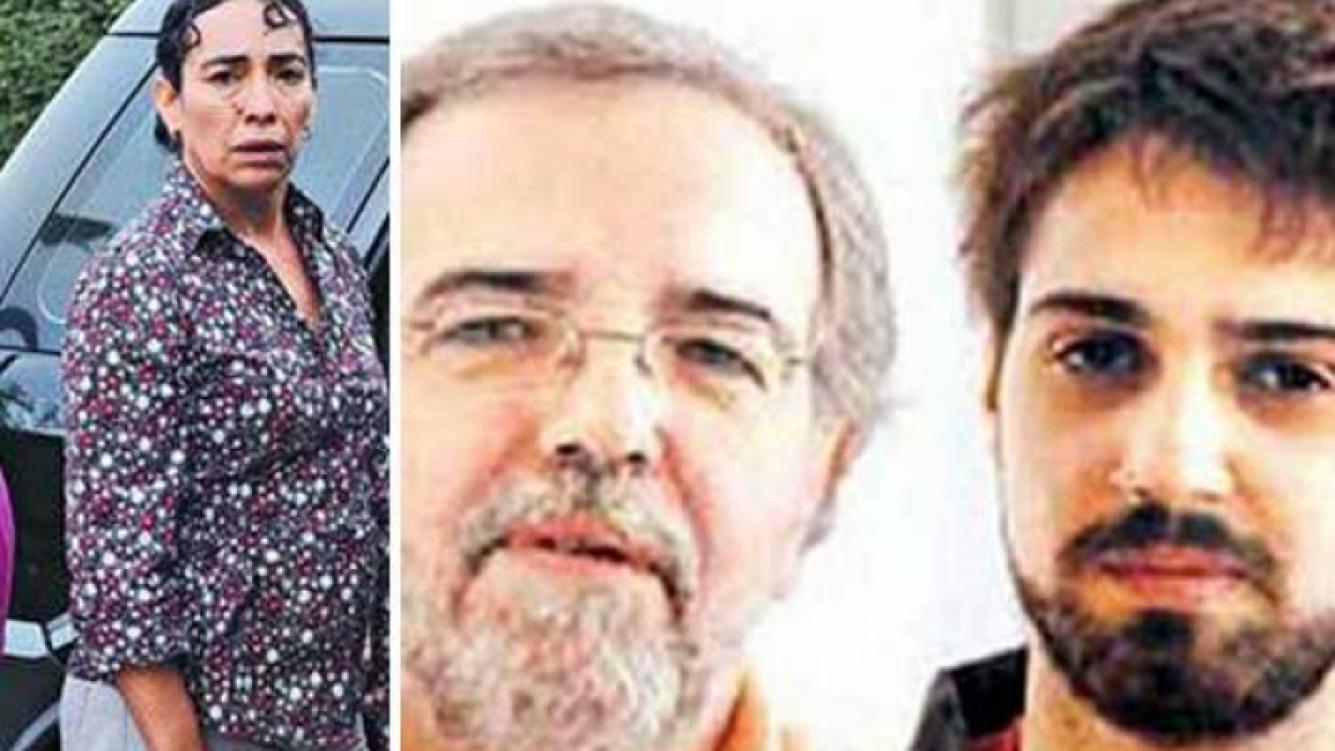 La esposa de Reinaldo Rodas le respondió a Eduardo Aliverti. (Fotos: Clarin.com)