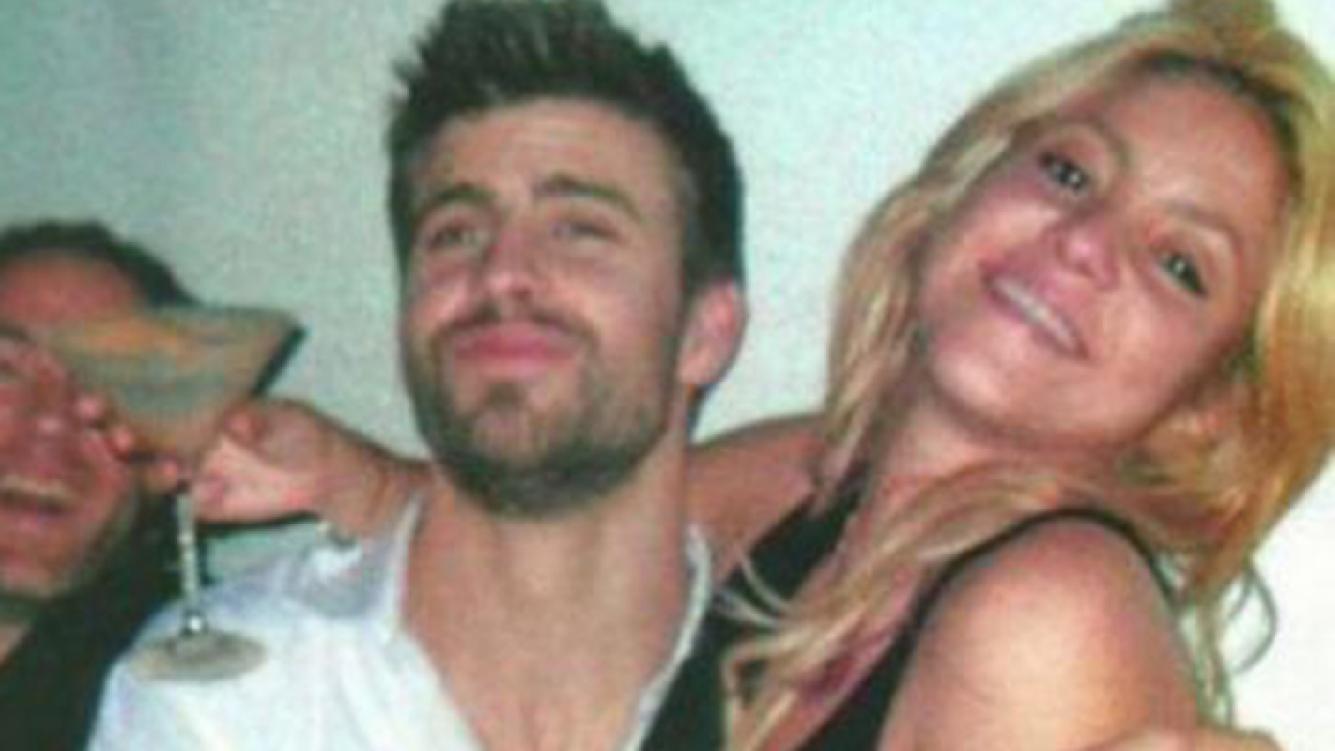 Gerard Piqué y Shakira, de fiesta (Foto: Web).