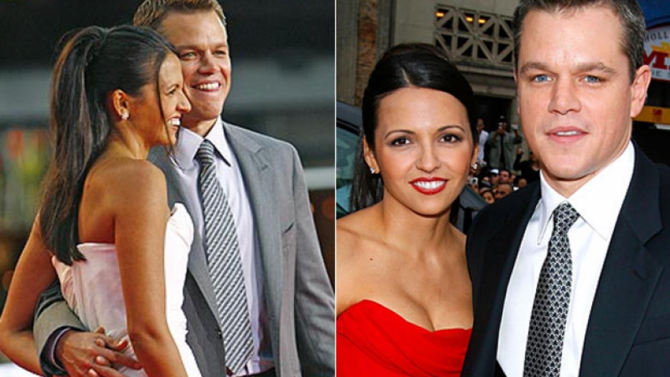 Matt Damon y su mujer, la argentina Luciana Barroso (Foto: archivo Web)