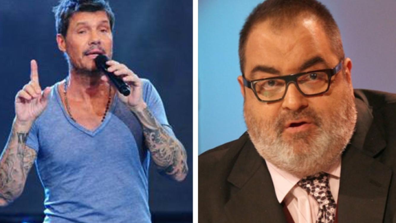 Fuerte cruce entre Marcelo Tinelli y Jorge Lanata