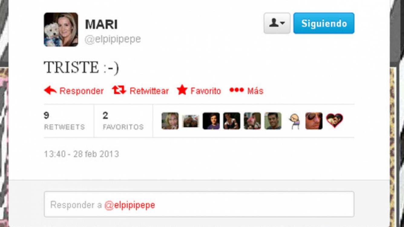 El tweet de Mari, la pareja de Cristian U. durante 12 años:
