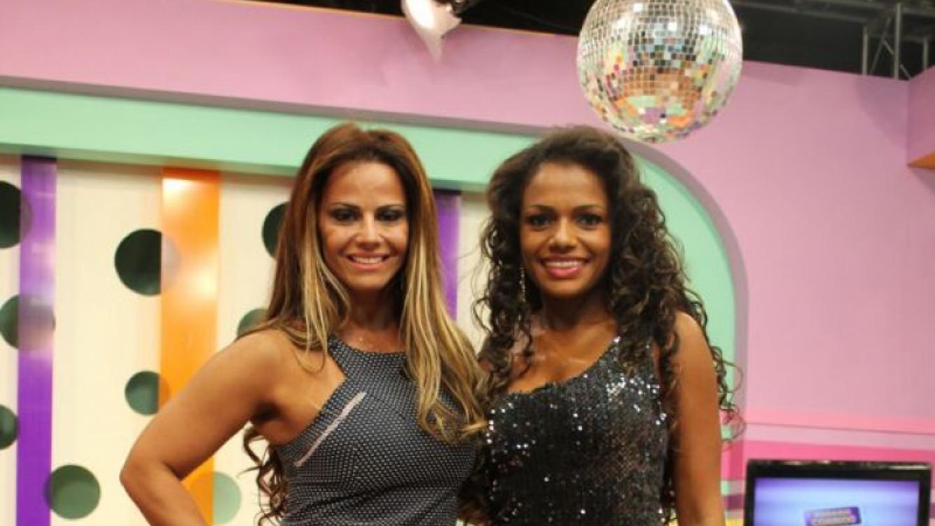 Viviane Araujo y Quiteria Chagas llegan al Carnaval de Río en San Luis.
