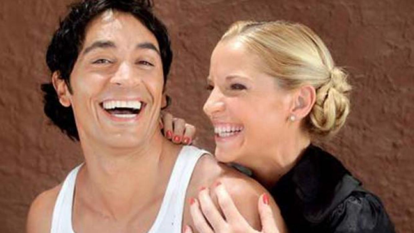 Sebastián Estevanez y Carina Zampini, una pareja de novela en Dulce amor. (Foto: Web)