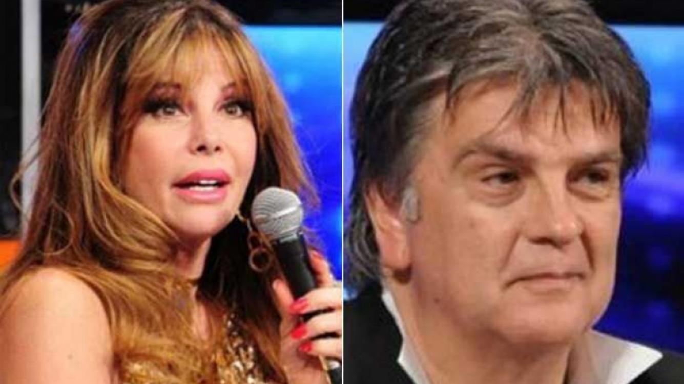 Graciela Alfano y Luis Ventura, reconciliados. (Fotos: Web)
