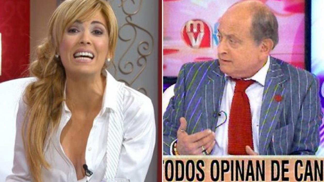Viviana Canosa, enojada con Canal 9... y con Chiche Gelblung. (Fotos: captura Canal 9)