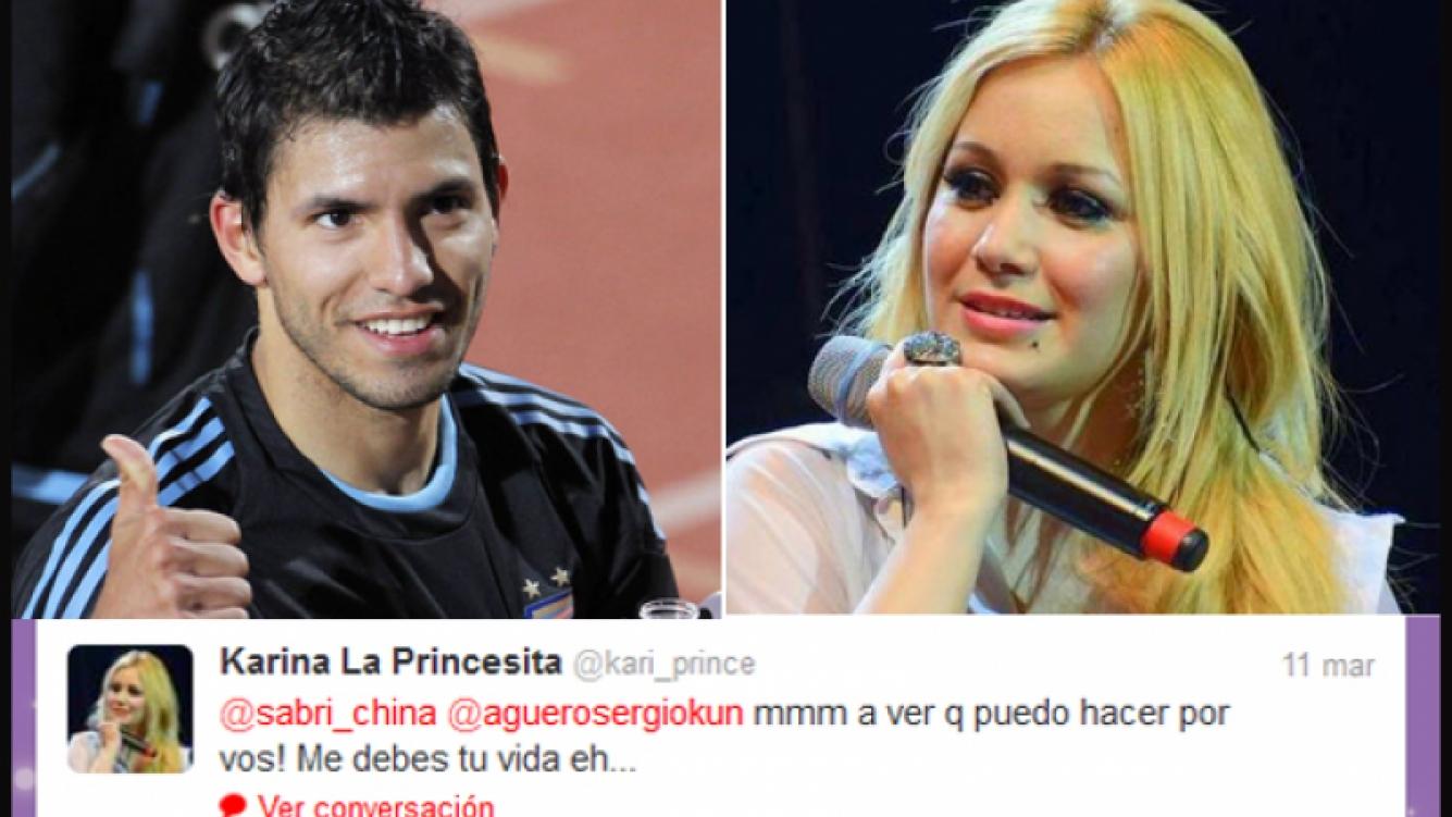 La Princesita Karina y el Kun, cómplices en Twitter. (Foto: archivo Web)