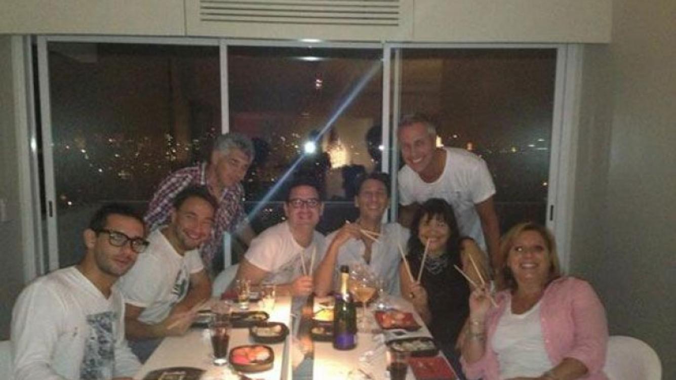 Marley, Tortonese, Flor Peña y Vernaci celebraron en Twitter (Foto: @marley_ok).