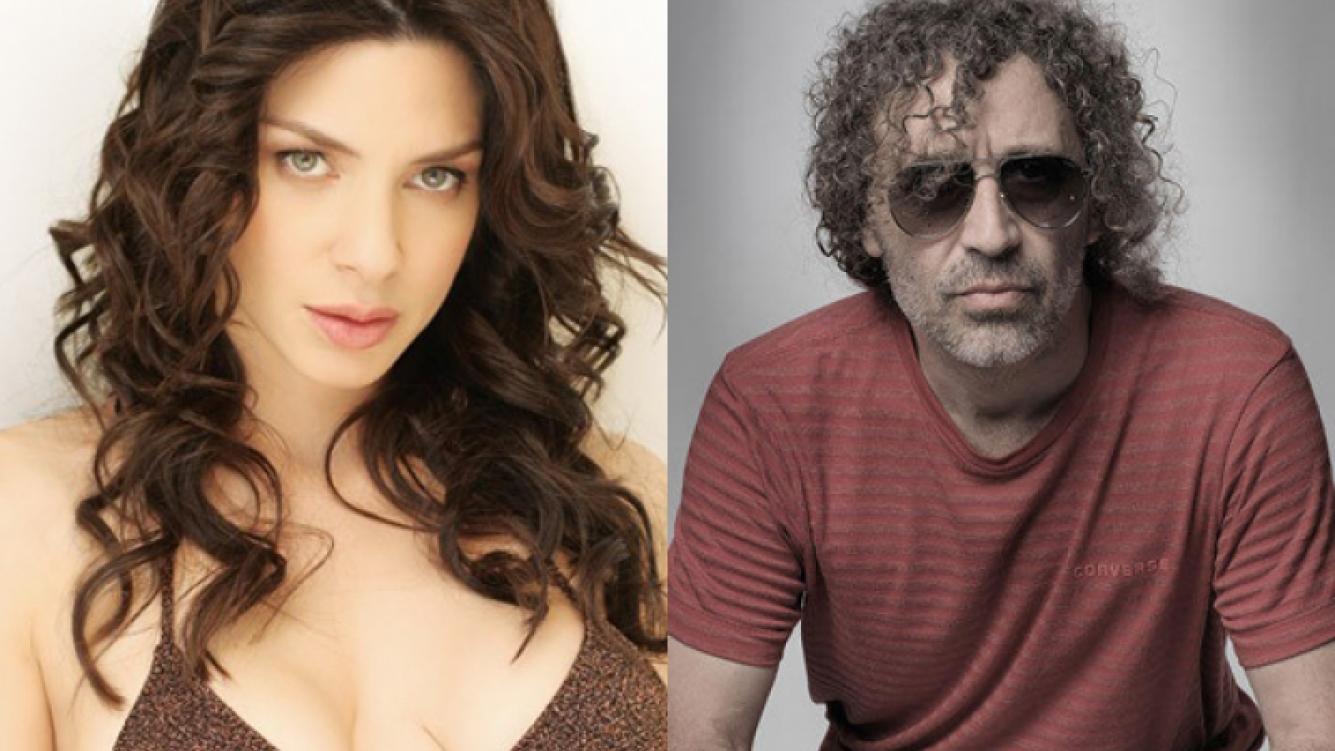 Romina Gaetani y el rockero Oscar Righi (Fotos: Web).