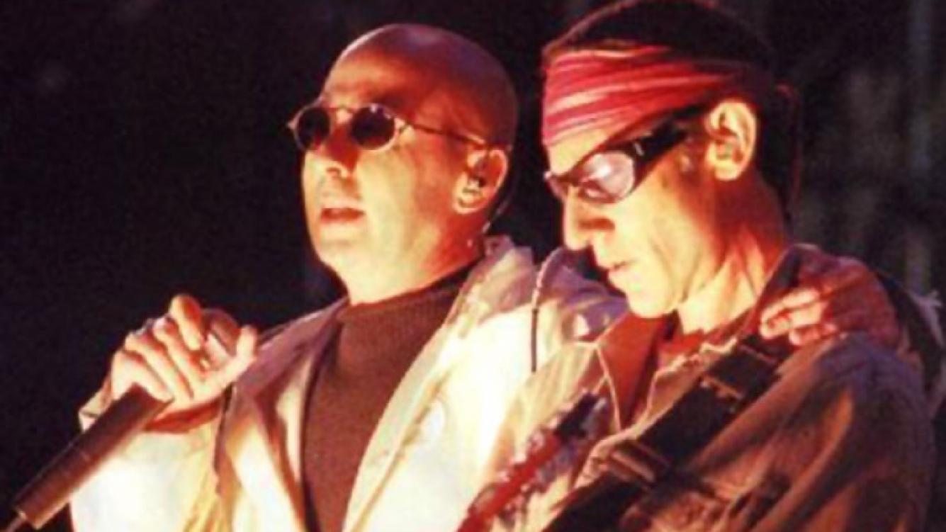 El Indio Solari y Skay, en los buenos viejos tiempos. (Foto: archivo Web)