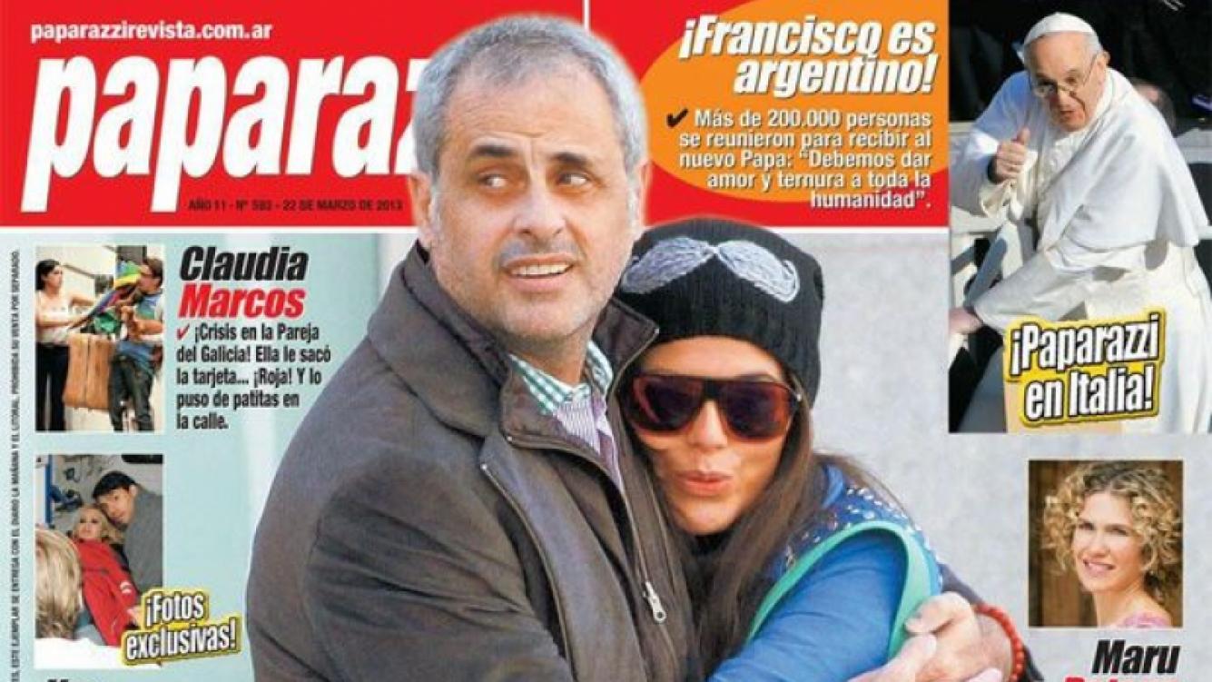 Rial y Loly, en la tapa de revista Paparazzi.