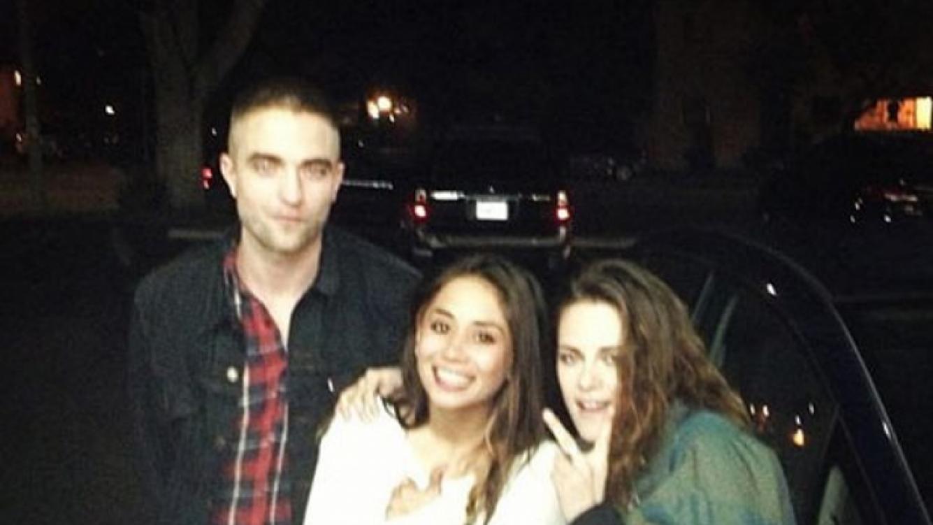 Kristen Stewart y Robert Pattinson, juntos en Los Ángeles (Foto: Web).