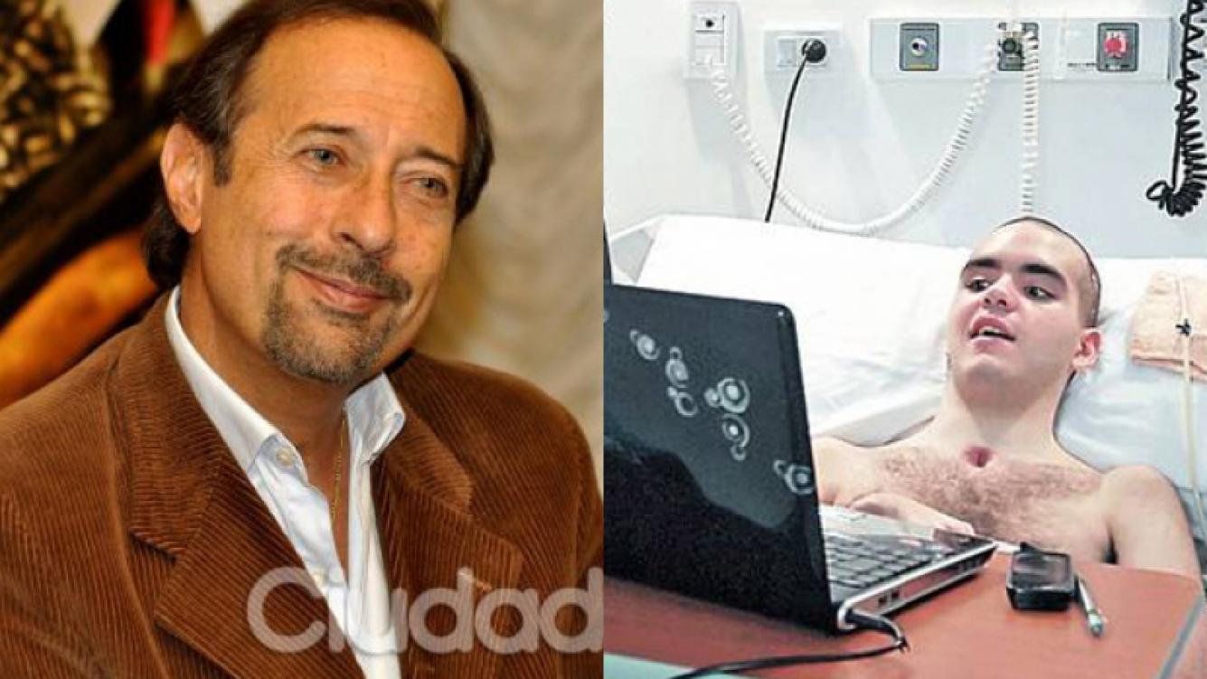 1 / 1 Guillermo Francella y Enzo, viendo sus programas (Fotos: Ciudad.com y Clarín).